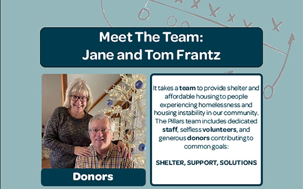 Meet the Team - Jane and Tom Frantz